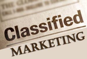classified marketing